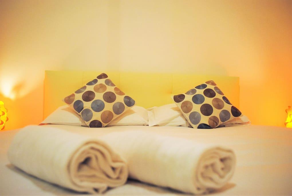 set asciugamani grandi e piccoli