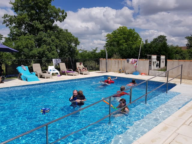 L'Hibou, lovely rural gite set in a small complex