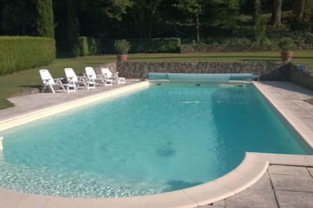 MANOIR 1807 AVEC PISCINE PRIVEE 16M - Saint-Jeure-d'Ay - House