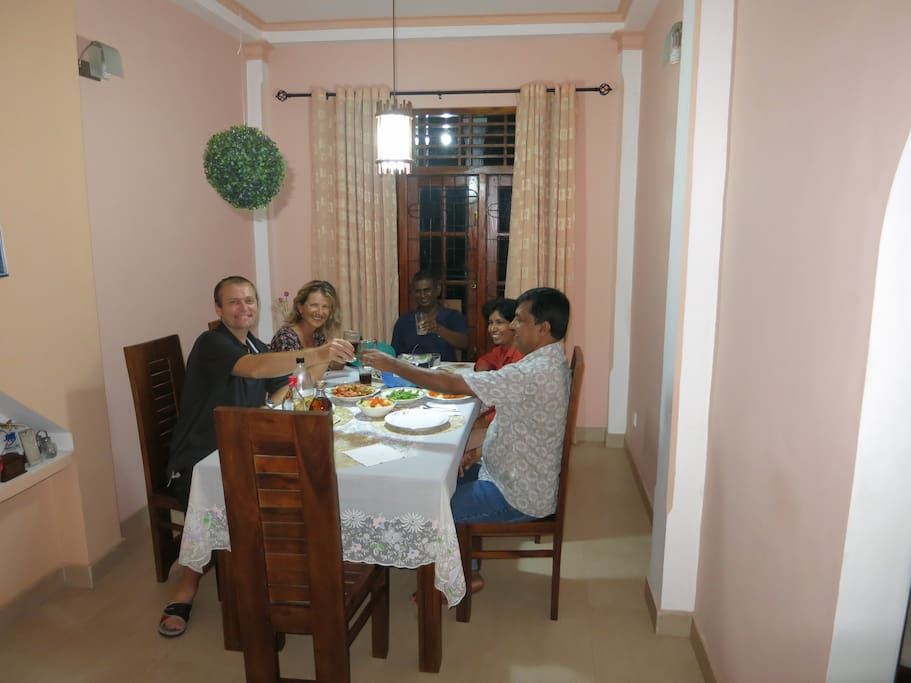Dinning room of the house