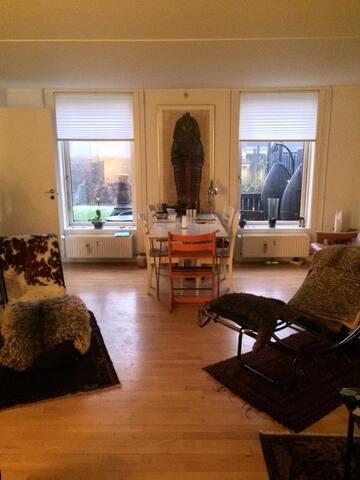 Appartment in to lewels with garden - Snekkersten - Condo