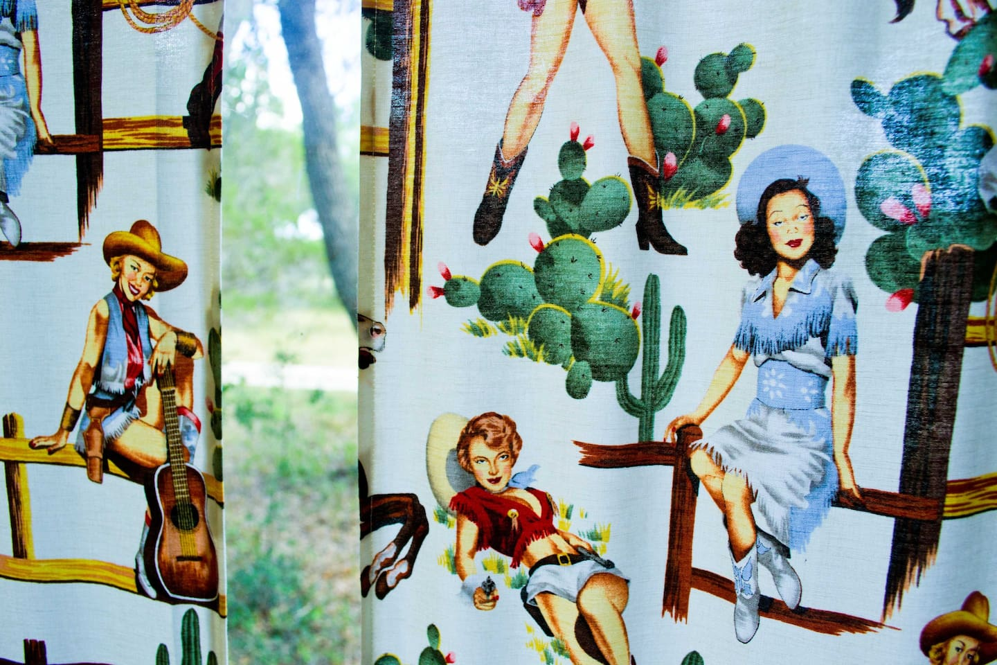cowgirl curtains