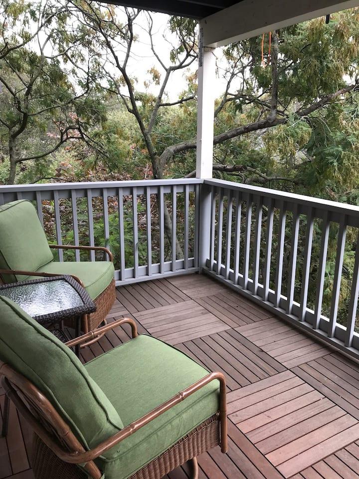 Serene Oak Tree Patio Suite