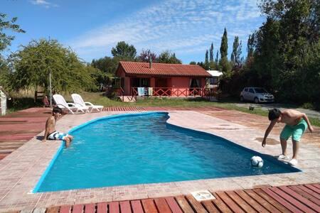 Cabañas Annunakis Cabaña 1 con piscina privada