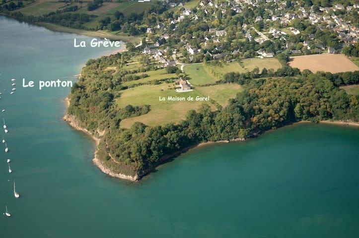 Maison vue exceptionnelle Rance - Le Minihic-sur-Rance - Haus
