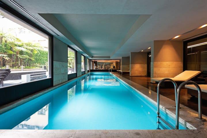 Luxury Studio with pool and gym -Seguridad 24/7