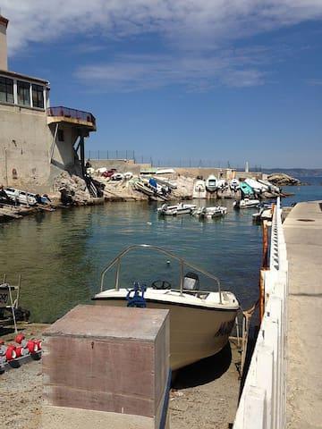 Corniche, Esprit Loft à 2 pas/Mer + Parking
