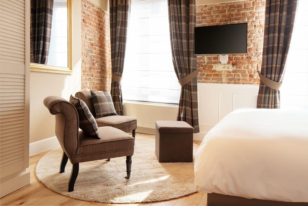Two George V sofas