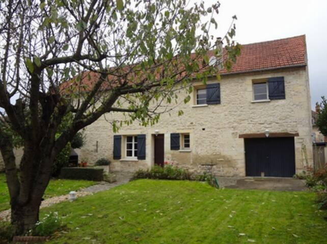 Flat in French cottage near Giverny - Magny-en-Vexin - Talo
