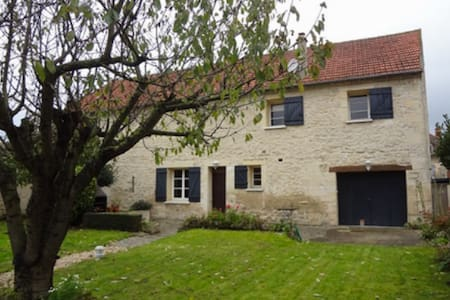 Flat in French cottage near Giverny - Magny-en-Vexin - Casa