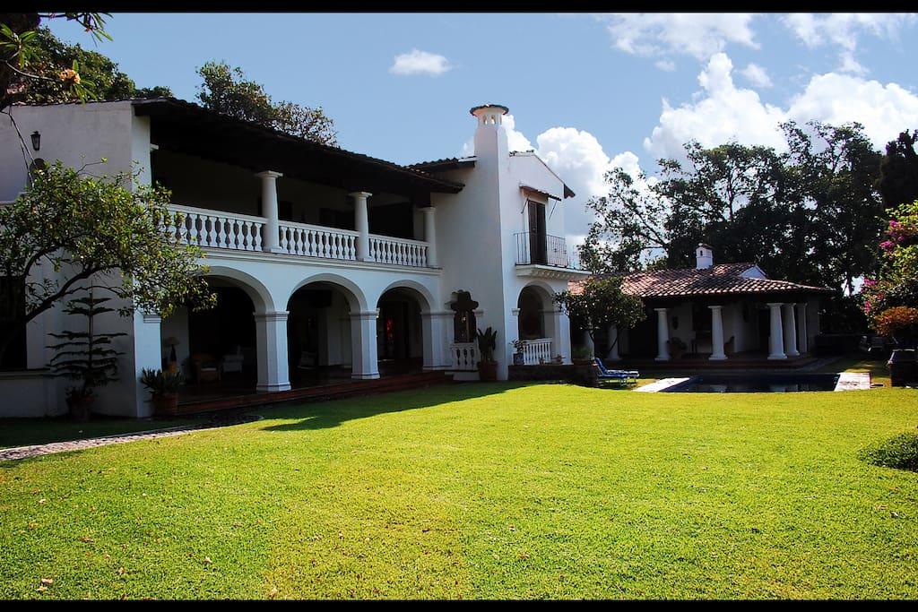 Main House & Bungalow, exterior