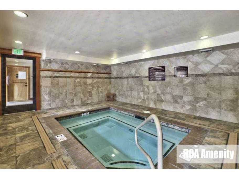 Jacuzzi located at clubhouse also.
