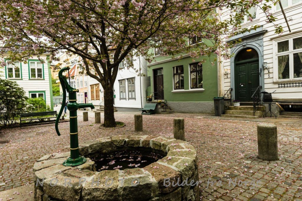 Kroken is a reminder of what Bergen used to be like in the 19th century