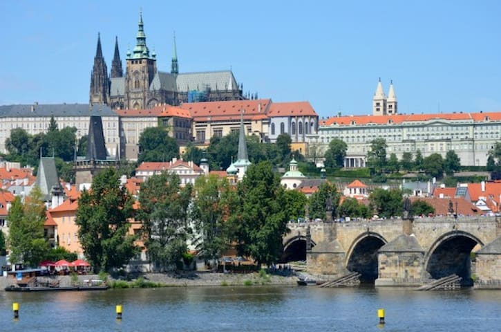 Double bed room flat next to Dancing house - Prague - Apartment