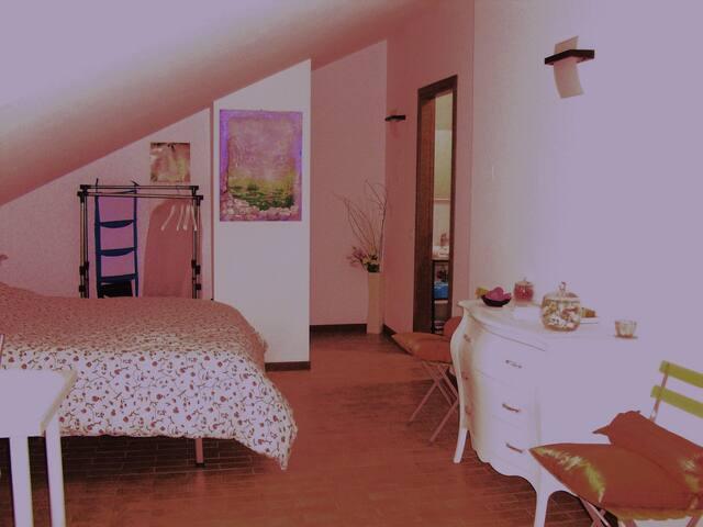 Deliziosa stanza in mansarda - Padua - Apartamento