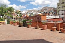 Terraza del loft / Loft's terrace.