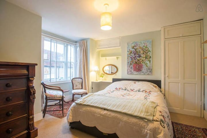 Large Sunny Bedroom