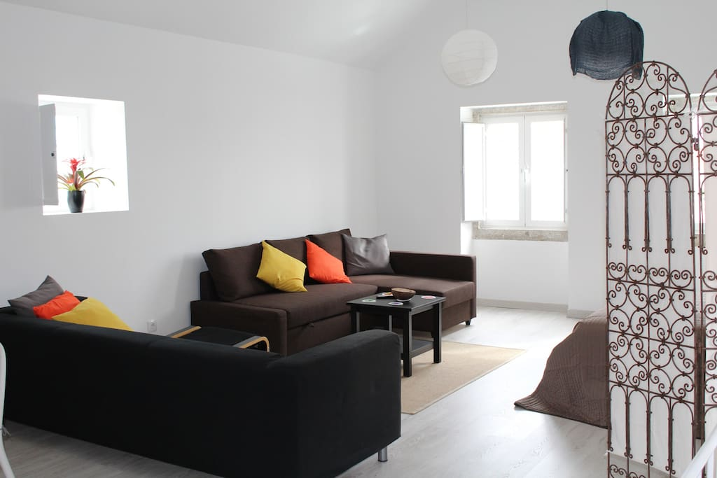 Sofá + sofá cama