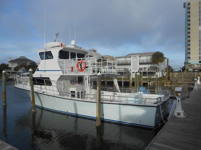 Charter Fishing 200 yards down the dock
