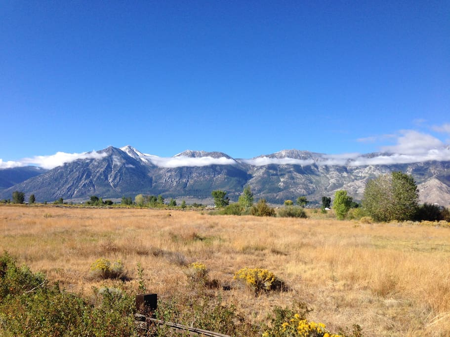 The beautiful Carson Valley.