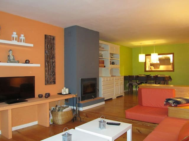Acogedor apartamento en Villanúa - Villanúa - Apartemen