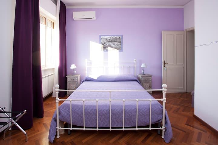 Camera Comfort Lavanda, Ginepro e Mimosa