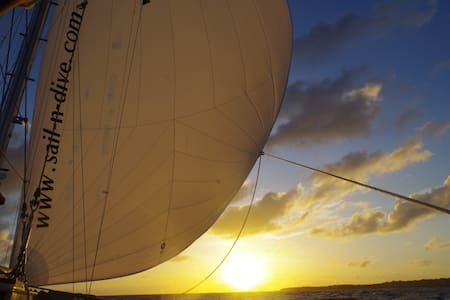 Sail cruise in the Grenadines
