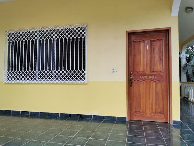 Habitación número 1