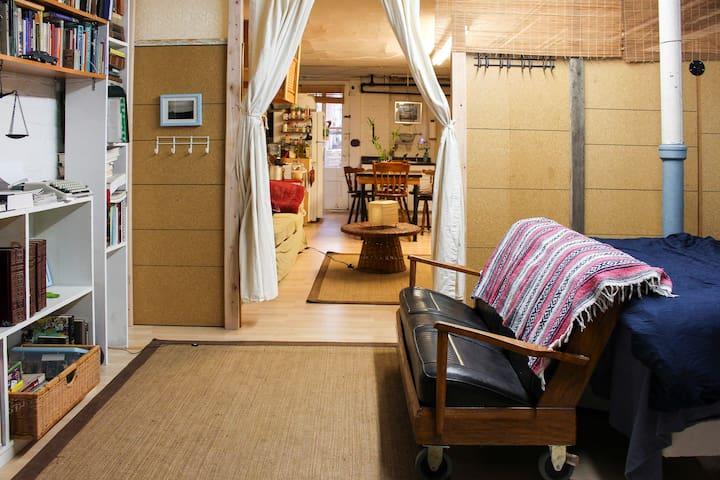 Unique: Spacious, Relaxing&Cozy, Fun Garden Studio