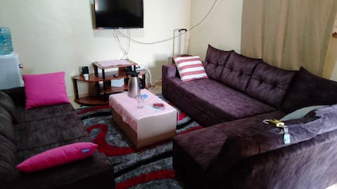 Fully furnished lovely 1- bedroom apartment 5 mins from the heart of kisii CBD
