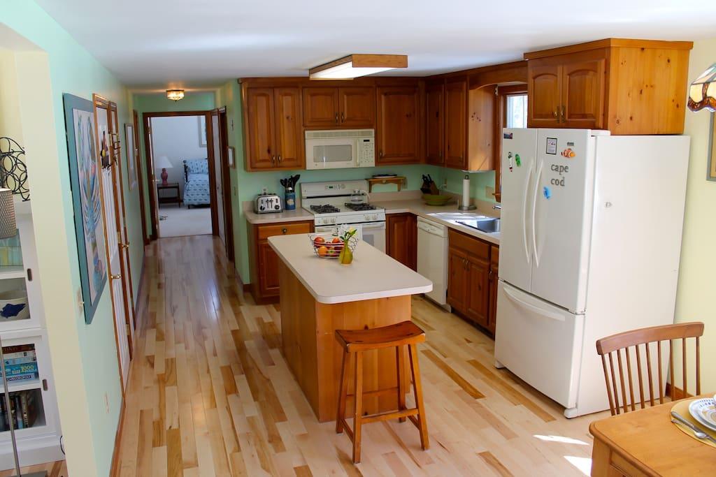 brand new maple floor