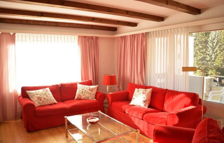 Sunny apartment with big balcony