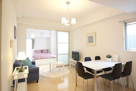 0saka Horie Amemura 5min Luxury apt - Apartment