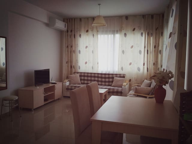 The apartment is 100 meters from the sea!