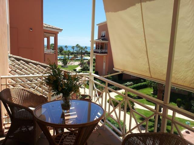 Duplex primera linea de playa - Isla Cristina - Huis