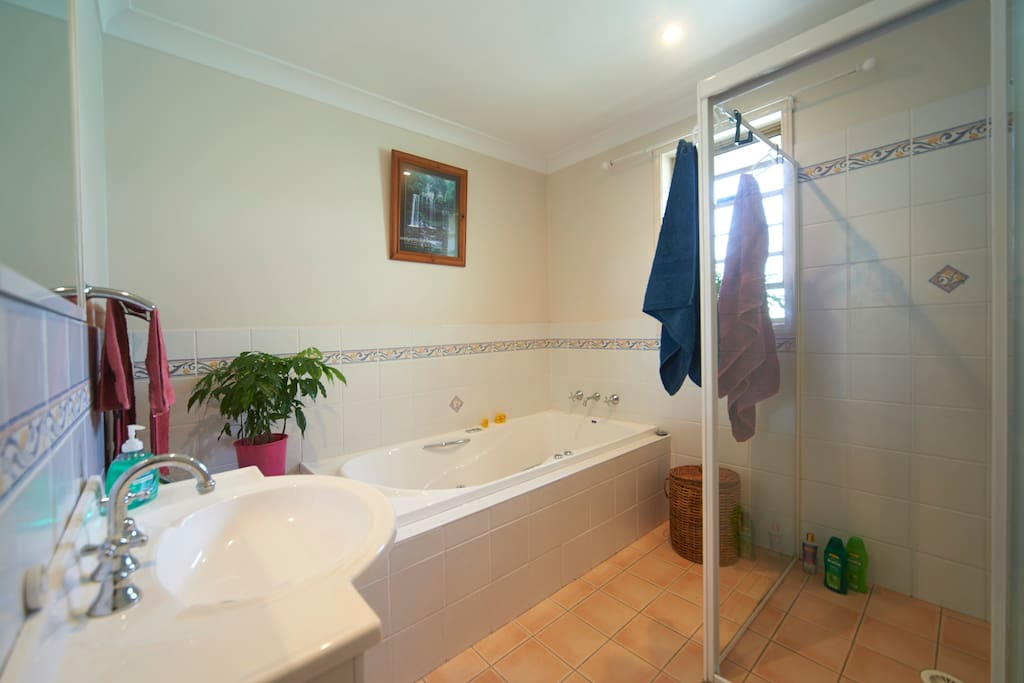 Your bathroom with spa
