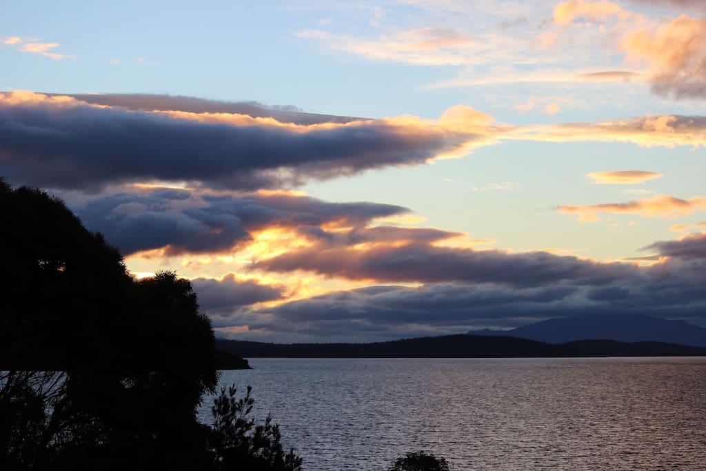 Another Summer Sunset from our Verandah