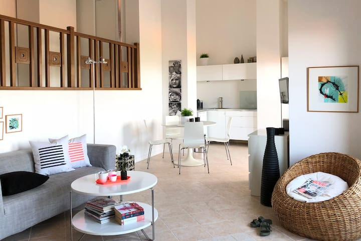 NEW! Nordic style penthouse studio