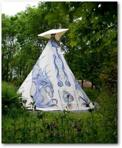 Dragon Tipi - Fishguard - Tenda Indígena