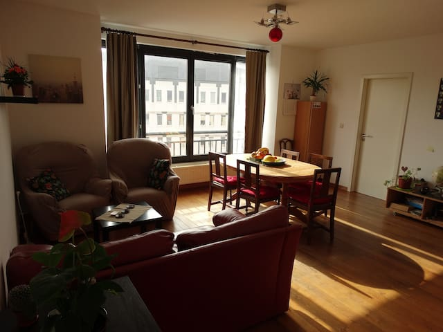 Cozy room in beautiful Ixelle area - Brussels - Apartment
