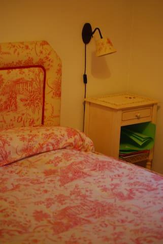 Una habitación en NUESTRA CASA - Navacerrada - Huis