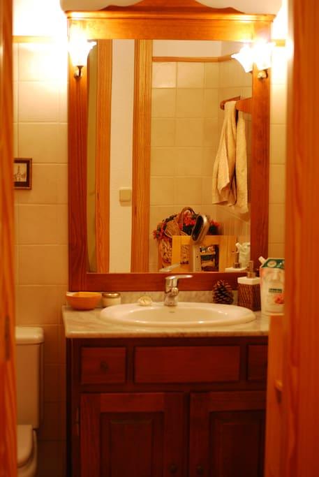 Cuarto de baño completo, privado