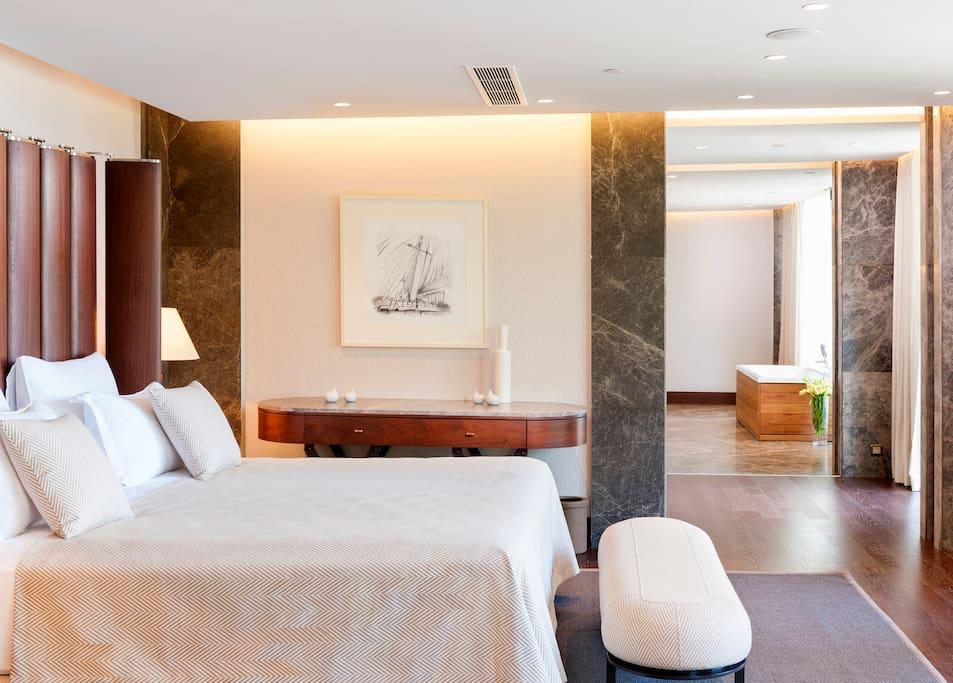 Premium Villa Bedroom