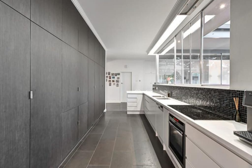 Modern Kitchen with Intergrated Appliances