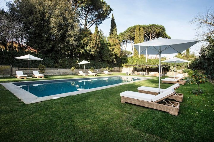 casa rural completa con piscina 14 personas