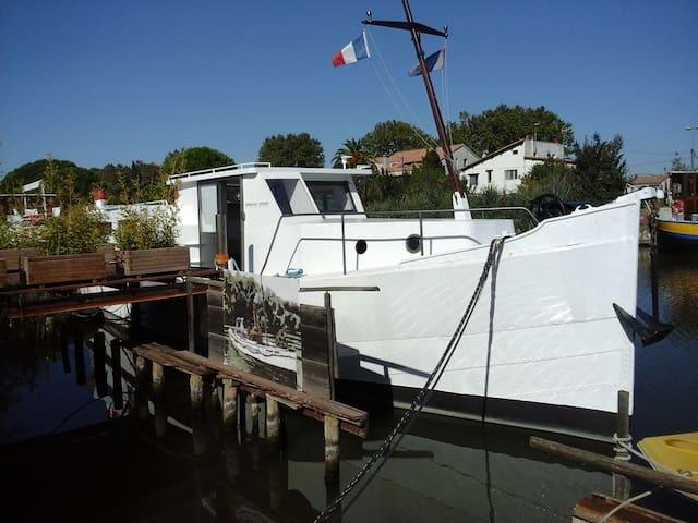 L'African Queen, bateau magnifique - AIGUES MORTES - Tekne
