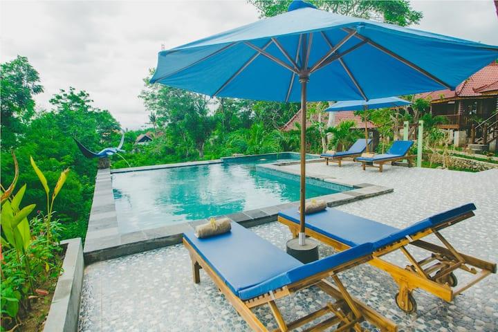 Great View 1BR Villa 2 at Starfish Lembongan