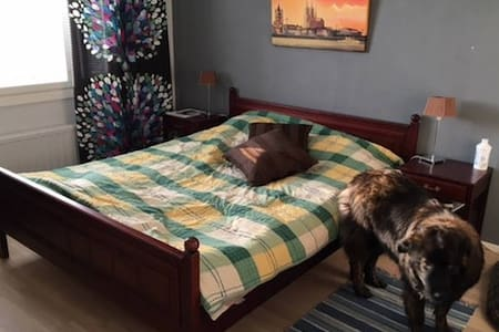 Spacious room for couples at the heart of Tampere - Tampere - Huoneisto