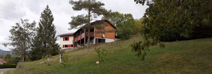Appartement dans chalet Haut Jura 2/3 pers