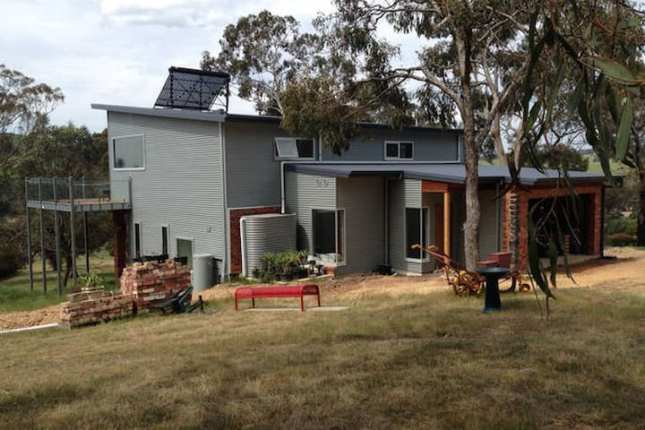 A modern house in a country setting - Kilmore East - House